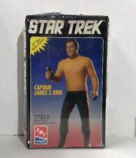 Vintage - Star Trek - 12 inch -Captain James T. Kirk - Vinyl Model Kit - 1994