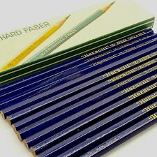 ANTIQUE UNUSED wood pencil LOT EBERHARD FABER HERACLIT 1250 No2 in box VINTAGE