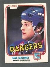 1981-82 OPC O-Pee-Chee Hockey Dave Maloney #227 New York Rangers NM/MT