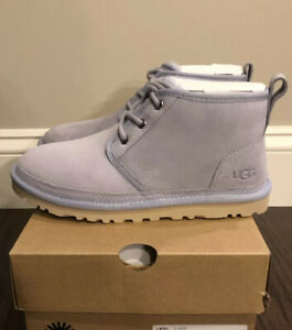 New UGG Women's Size 8 Neumel Lace Boot FHA Blue Gray