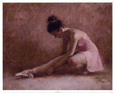 Ingenue by Richard Judson Zolan Art Print Ballet Dance Girl Room Poster 20x16
