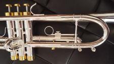 Berkeley Silver Bb Trumpet w/D2H MP (Monette Style)