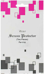 Reiko LG Phone V10, H900, VS990, H901; 2 Pieces Screen Protector In Clear
