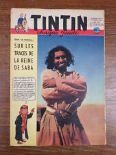 JOURNAL TINTIN ANNEE 1952 Numéro 201 Couverture HERGE Bel exemplaire