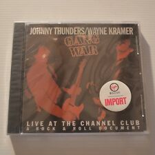 JOHNNY THUNDERS/WAYNE KRAMER - GANG WAR LIVE - 1995 US CD NEW & SEALED