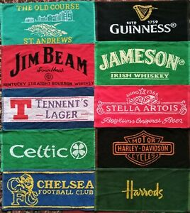 10 Different Beer - Bar Towels -  New Lot 3