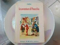 Raro Libro Le Avventure Di Pinocchio Collodi EDIZIONE C.E.L.I  Bologna Anno 1956