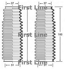 FSG3222 FIRST LINE STEERING GAITER KIT fits BMW 3 series E36