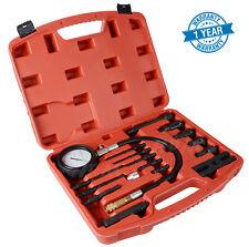 New 17 pc Diesel Engine Compression Tester Kit Tool Set Automotive Compressor