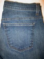 DKNY So-Low-Lita Stretch Boot Womens Dark Blue Denim Jeans Size 4 R  x 32  Mint