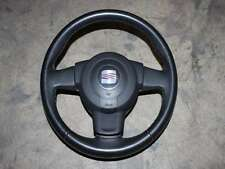 Seat Leon 1P Lenkrad Leder schwarz Airbag Fahrerairbag 1P0880201 Sportlenkrad