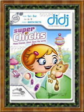 NEW LeapFrog Didj Learning Math Facts Game Super Chicks Sealed