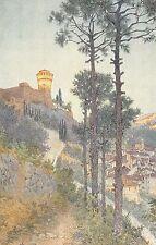 4066) BRISIGHELLA (RAVENNA) LA ROCCA. ILLUSTRATORE G. UGONIA.
