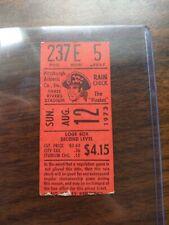 MLB 1973 8/12/73 Atlanta Braves at Pittsburgh Pirates Ticket Stub Stargell 2/3