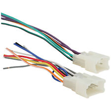 TOYOTA CAR STEREO CD PLAYER WIRING HARNESS WIRE ADAPTER FOR A AFTERMARKET RADIO
