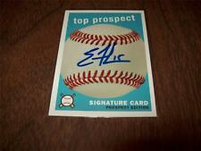 Eric Fowler > Fisher Cats - Autographed 2007 Top Prospect Edition Card