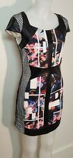BEBE Party Dress Fish-net Sides Stretch Mini Stunning New Without Tags 12
