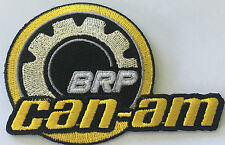 CAN-AM BRP Motorcycle -  embroidered cloth patch.                        B030705