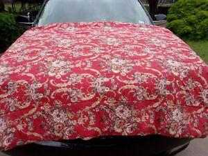 RALPH LAUREN Danielle Marseilles Twin  Red Floral Comforter