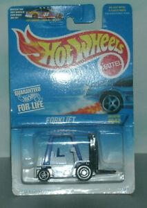 1/64 Scale Forklift Truck Diecast Vehicle - Vintage 1990's Hot Wheels #642 19693