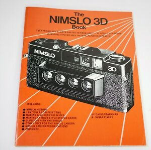 Guide to NIMSLO 3D camera - by Reel 3-D Excellent book from 1980s - LS5