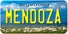 Mendoza Argentina Novelty Car License Plate P01