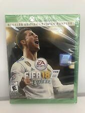 FIFA 18 Ronaldo Edition (MICROSOFT XBOX ONE) BRAND NEW FACTORY SEALED EA Sports