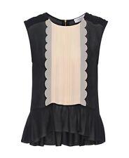 Axara parís blusa top talla 42 nuevo np:129 €