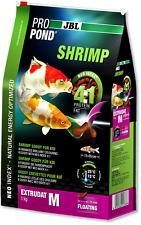JBL Pro Pond Shrimp Treats Fish Food 340g 1.3kg High Protein Garden Koi Tetra