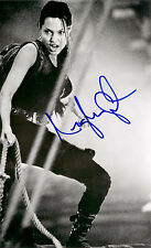 Framed Print - Angelina Jolie with Autograph (Replica Picture Poster Brad Pit)