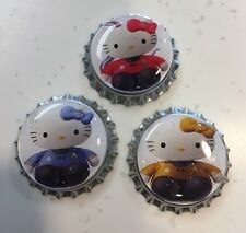 Bottle Cap Magnet Set *Hello Kitty Star Trek Beyond* Collectibles