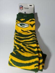 NFL Greenbay Packers Team Crew Dress Socks Medium 5-10 New