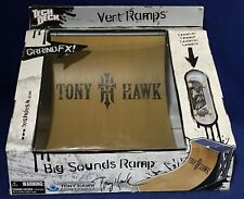 New TONY HAWK Tech Deck BIG SOUNDS Vert RAMP & Birdhouse BLACK 6 Fingerboard