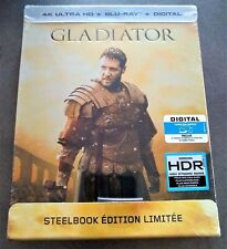 GLADIATOR 4K Ultra HD + Blu-Ray Import Exclusive Limited Edition STEELBOOK