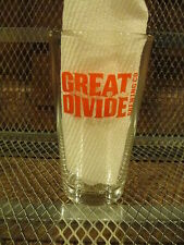Great Divide Brewing Co Beer Pint Glass Denver Co Great Minds Drink Alike A