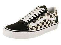 Vans Old Skool Unisex Casual Sneakers, Size 5, Color Black/White