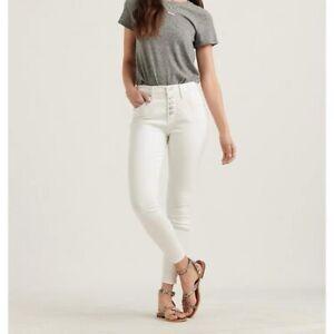 Lucky Brand Los Angelas White skinny Jeans Size 24 ( Brand New)