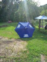 RARE PROMO Bud Light Patio Umbrella