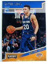 2018-19 Panini Chronicles Playoff Kevin Knox Rookie RC #197, New York Knicks