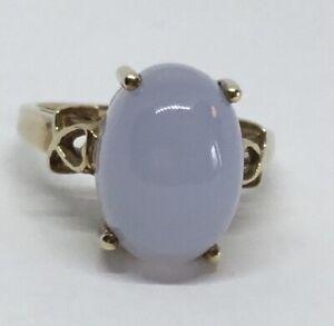9 Carat Gold, Moonstone Ring. Hallmarked Birmingham 2005