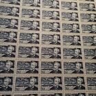 FEUILLE SHEET TIMBRE JULES VERNE N°1026 x50 1955 NEUF ** LUXE MNH COTE 450€