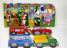 Childrens Board Books 8 books for Toddlers Wheelies and more
