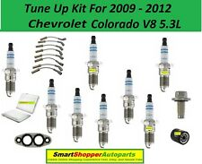Ignition Tune Up For 2009-2012 Chevrolet Colorado V8 Spark Plug Wire Set, Oil Fi