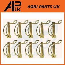 Fordson Dexta Tractor cadenas de enlace con anillo abatible Pin X 2