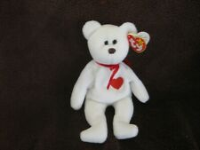 Ty 1993 Valentino Beanie Baby Excellent Condition Brown Nose & Backward Ear