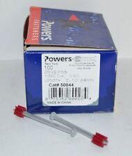 "NEW Powers Fasteners Drive Pins 50044 2-1/2"" x .300 Drive Pins - (1 Box of 100)"