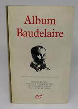 PLÉIADE - ALBUM BAUDELAIRE (1974)