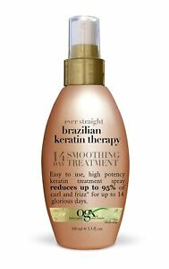 Organix Ever Straight Brazilian Keratin Therapy 14 Day Smoothing Treatment New