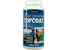 DecoArt Ds134-65 Clear Pouring Top Coat 16oz
