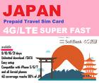 Japan Travel - 8 days Prepaid data SIM card 4G/LTE UNLIMITED Softbank Network